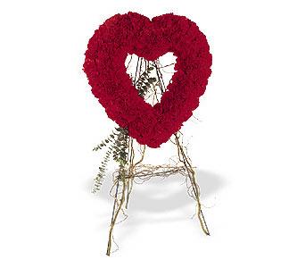 Konya yurtiçi ve yurtdışı çiçek siparişi  karanfillerden kalp pano