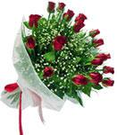 Konya yurtiçi ve yurtdışı çiçek siparişi  11 adet kirmizi gül buketi sade ve hos sevenler