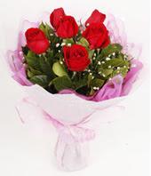 9 adet kaliteli görsel kirmizi gül  Konya 14 şubat sevgililer günü çiçek