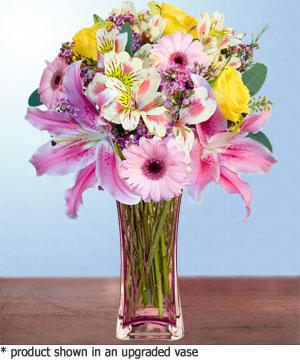Anneme hediye karisik cam mevsim demeti  Konya çiçek yolla , çiçek gönder , çiçekçi