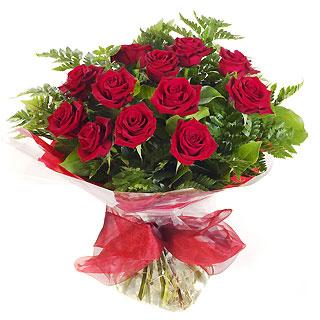Ucuz Çiçek siparisi 11 kirmizi gül buketi  Konya hediye çiçek yolla