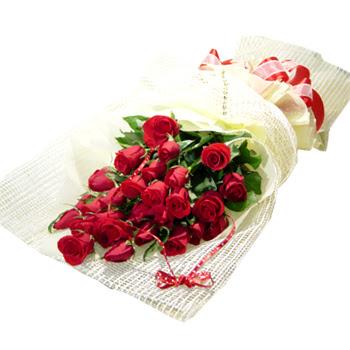 Çiçek gönderme 13 adet kirmizi gül buketi  Konya hediye sevgilime hediye çiçek