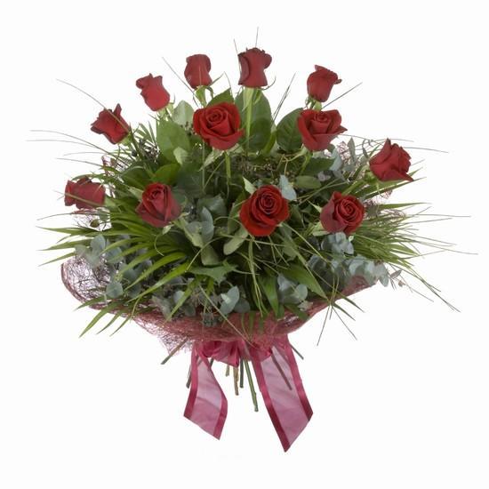 Etkileyici buket 11 adet kirmizi gül buketi  Konya yurtiçi ve yurtdışı çiçek siparişi