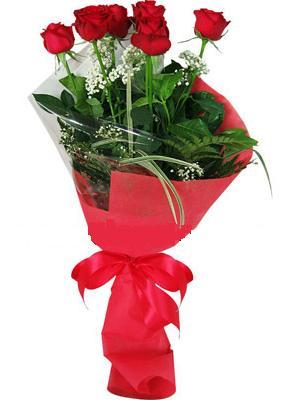 7 adet kirmizi gül buketi  Konya online çiçek gönderme sipariş
