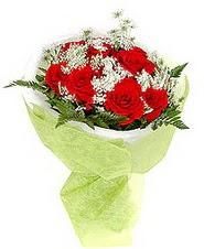 Konya çiçek online çiçek siparişi  7 adet kirmizi gül buketi tanzimi