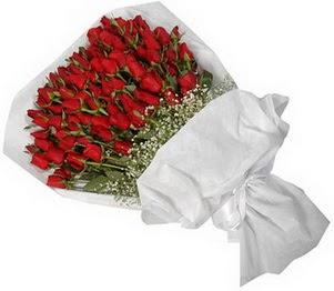 Konya cicek , cicekci  51 adet kırmızı gül buket çiçeği