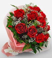 12 adet kırmızı güllerden kaliteli gül  Konya İnternetten çiçek siparişi