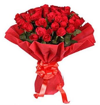 41 adet gülden görsel buket  Konya hediye sevgilime hediye çiçek