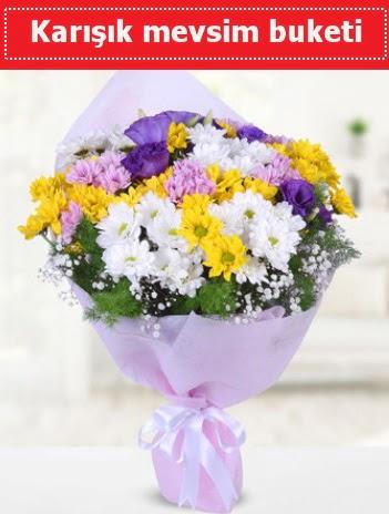 Karışık Kır Çiçeği Buketi  Konya çiçekçiler