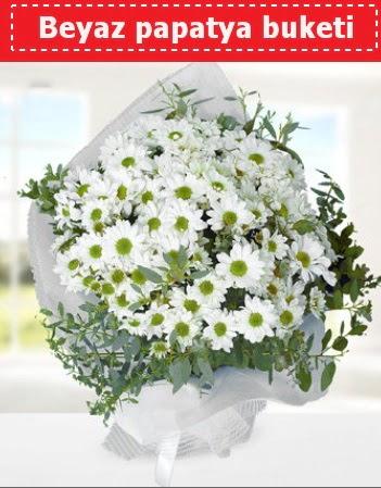 Beyaz Papatya Buketi  Konya çiçek satışı