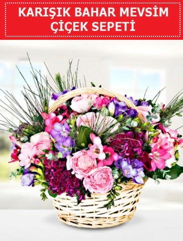 Karışık mevsim bahar çiçekleri  Konya çiçek servisi , çiçekçi adresleri