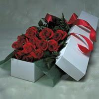 Konya çiçek gönderme sitemiz güvenlidir  11 adet gülden kutu