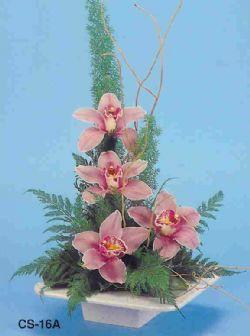 Konya anneler günü çiçek yolla  vazoda 4 adet orkide