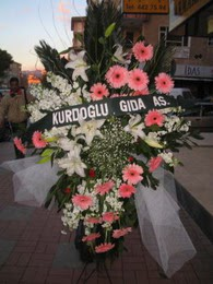 kazablanka,gerbera,sebboy ferforje  Konya kaliteli taze ve ucuz çiçekler