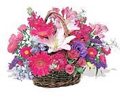 küçük karisik özel sepet   Konya hediye çiçek yolla