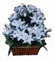 yapay karisik çiçek sepeti   Konya çiçek gönderme sitemiz güvenlidir