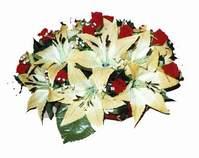 yapay karisik çiçek sepeti   Konya çiçek yolla , çiçek gönder , çiçekçi