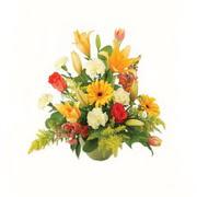 karisik renkli çiçekler tanzim   Konya cicekciler , cicek siparisi