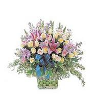sepette kazablanka ve güller   Konya 14 şubat sevgililer günü çiçek