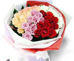 SEVENLERE ÖZEL 51 ADET GÜL  Konya yurtiçi ve yurtdışı çiçek siparişi