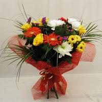 Konya çiçek mağazası , çiçekçi adresleri  Karisik mevsim demeti