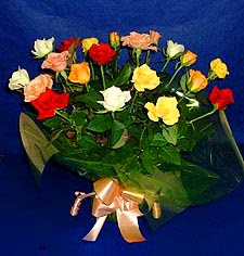 Konya çiçek mağazası , çiçekçi adresleri  13 adet karisik renkli güller