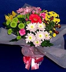 Konya çiçek mağazası , çiçekçi adresleri  küçük karisik mevsim demeti