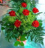 6 adet kirmizi gül buketi   Konya çiçek gönderme sitemiz güvenlidir