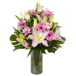 vazo içerisinde karisik mevsim çiçekleri  Konya çiçek yolla , çiçek gönder , çiçekçi