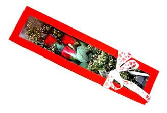 Konya çiçek mağazası , çiçekçi adresleri  Kutuda 3 adet gül