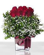 Konya çiçek online çiçek siparişi  11 adet gül mika yada cam - anneler günü seçimi -