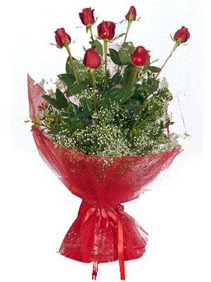Konya çiçekçi mağazası  7 adet gülden buket görsel sik sadelik