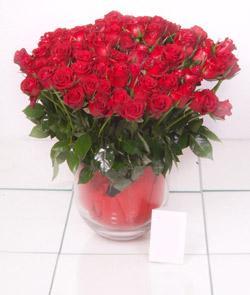 Konya çiçek yolla  101 adet kirmizi gül