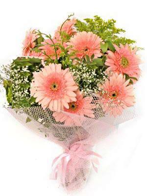 Konya hediye sevgilime hediye çiçek  11 adet gerbera çiçegi buketi