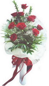 Konya çiçek mağazası , çiçekçi adresleri  10 adet kirmizi gülden buket tanzimi özel anlara