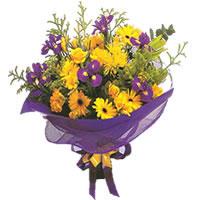 Konya cicekciler , cicek siparisi  Karisik mevsim demeti karisik çiçekler