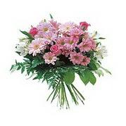karisik kir çiçek demeti  Konya hediye sevgilime hediye çiçek