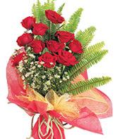 11 adet kaliteli görsel kirmizi gül  Konya hediye sevgilime hediye çiçek
