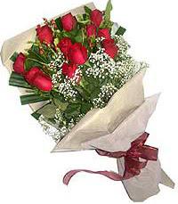 11 adet kirmizi güllerden özel buket  Konya çiçek yolla , çiçek gönder , çiçekçi
