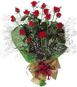 11 adet kirmizi gül buketi özel hediyelik  Konya kaliteli taze ve ucuz çiçekler