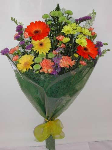 karisik kir çiçek buketi çiçek gönderimi  Konya çiçek gönderme