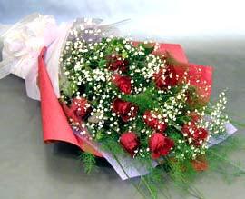 10 adet kirmizi gül çiçegi gönder  Konya çiçek , çiçekçi , çiçekçilik