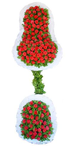 Dügün nikah açilis çiçekleri sepet modeli  Konya çiçek yolla