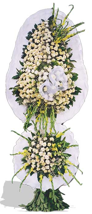 Dügün nikah açilis çiçekleri sepet modeli  Konya cicekciler , cicek siparisi