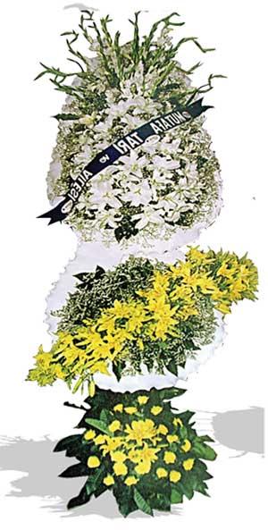 Dügün nikah açilis çiçekleri sepet modeli  Konya çiçek online çiçek siparişi