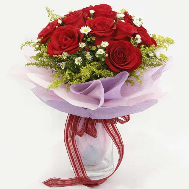 Çiçek gönderme estetikliginiz 11 gül buket  Konya kaliteli taze ve ucuz çiçekler