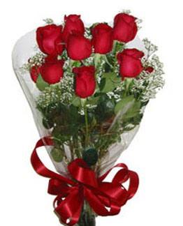 Çiçek sade gül buketi 7 güllü buket  Konya çiçek gönderme sitemiz güvenlidir