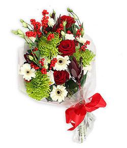 Karisik mevsim buketi çiçek tanzimi  Konya çiçek yolla , çiçek gönder , çiçekçi
