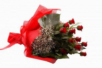 Konya güvenli kaliteli hızlı çiçek  11 adet kirmizi gül buketi çiçekçi