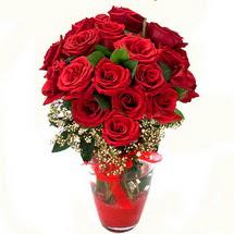Konya güvenli kaliteli hızlı çiçek   9 adet kirmizi gül